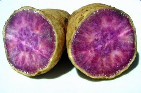 Okinawan Purple Sweet Potato - Raw