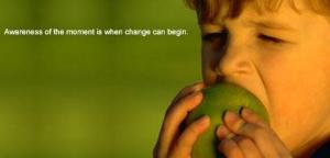 Awareness-of-the-moment-is-when-change-can-happen-young-boy-eating-an-apple